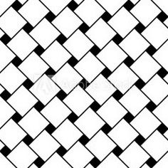 Vector modern seamless geometry pattern squares, black and white abstract geometric background, pillow print, monochrome retro texture, hipster fashion design