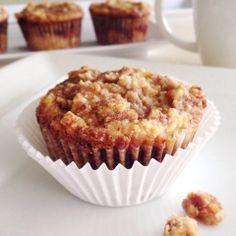 Cinnamon Roll Muffins  #TaylorMadeItPaleo