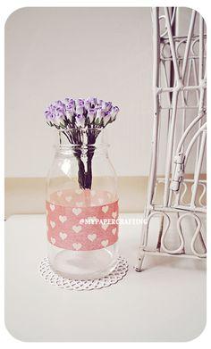Purple flowers! Mulberry Mini Paper Rose Buds | via http://www.luulla.com/product/63805/10-mulberry-mini-paper-rose-buds-flower-purple--slash--pack