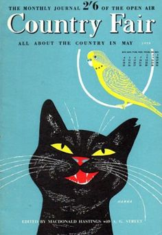 """Country Fair"" magazine cover, May 1958"