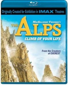 Imax The Alps, Climb of Your Life, Blu-ray Movie Review. #documentaries
