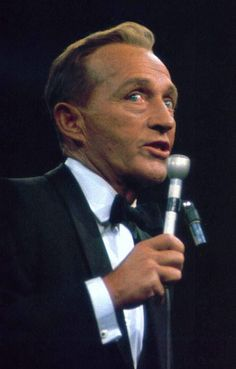 """February 11, 1968: Bing Crosby performing at the opening of the  """"new"""" Madison…"""
