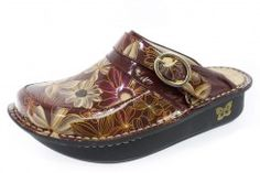 Alegria Seville Wine & Flowers Patent Clog