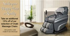 Our newest newsletter is out today. Are you on our mail list, have you seen it? We have a great deal on Osaki Massage Chairs and a great free gift for orders of $49.95 or more. Please check it out and share so your friends can take advantage of the great deals. http://goo....more