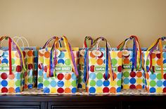 Personalized goodie bags