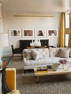 From Street Style to Interior Style: Tailored, Neutrals, & Marigold