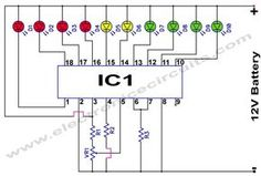 48 best projects to try images in 2019 diy electronicsbattery monitor circuit this bar graph led battery level indicator circuit is based on monolithic ic from national semiconductor that senses