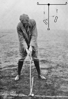 Harry Vardon at address Our Residential Golf Lessons are for beginners, Intermediate & advanced. Tennis Rules, Tennis Tips, Golf Tips, Play Tennis, Play Golf, Tennis Serve, Tennis Party, Golf Etiquette, Golf Academy