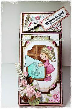 ♥ Mit Schokolade geht alles besser / Schokiverpackung ♥