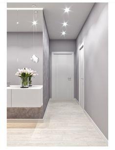 Este posibil ca imaginea să conţină: interior Hall And Living Room, Home Living Room, Hallway Designs, Home Room Design, Hallway Decorating, House Rooms, Modern House Design, Design Case, Interior Design Living Room