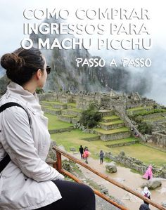 Passo a passo para comprar ingressos para o Machu Picchu