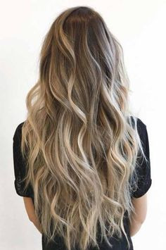 Golden Blonde Balayage for Straight Hair - Honey Blonde Hair Inspiration - The Trending Hairstyle Hair Day, New Hair, Cabelo Ombre Hair, Tape In Hair Extensions, Brown Blonde Hair, Brunette Hair, Golden Blonde, Ombre Hair Color, Blonde Hair Colour
