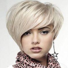 Para cabello corto y abundante. Hair styles For Summer