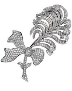 Chanel 1932 Collection - Plume feather brooch - House of Chanel (French, founded 1913) - Design by Gabrielle 'Coco' Chanel (=)