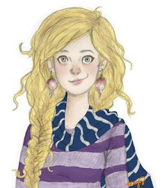 Luna Lovegood fan art!(not my own see my drawings board to see what I draw like)
