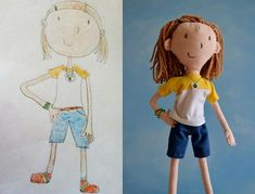Love this site!  Send in a favorite drawing from your little one and they will make a toy out of it!  What an incredibly fun keepsake!