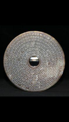 Zhou Dynasty jade bi