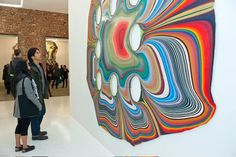 Stunning Pour Paintings by Holton Rower