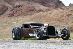 Smile for the rat rod