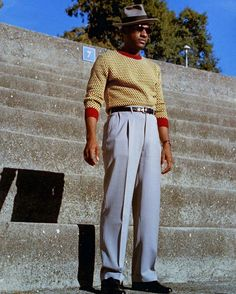 40s Fashion, Vintage Fashion, Male Fashion, Ny Style, Black Style, Leon Bridges, Dapper Day, Black Pride, Western Wear