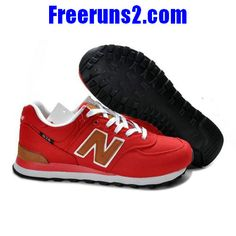 New Balance ML574PBR backpack retro rouge brun Chaussures Hommes