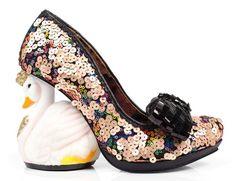 Savan - Ladies Heels by Irregular Choice - Island Footwear, Isle of Wight Cute Shoes, Me Too Shoes, Heeled Boots, Shoe Boots, Quirky Shoes, Irregular Choice Shoes, Vintage Boots, Dream Shoes, Pumps Heels