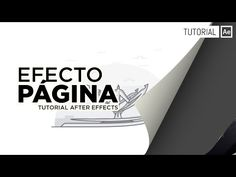 Efecto Pagina [CC Page Turn] - Tutorial After Effects [Español] - YouTube