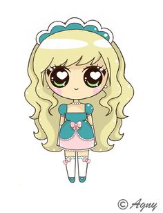 Belle kawaii version ~ Hope you like it ❤