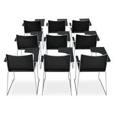 € 79,00 SIGMA-SL #sconto 50% #sedia #impilabile fino a 20. Poliedrica, ottima per sale #conferenze ma anche in #casa. Massimo #comfort grazie all'ampia seduta e schienale. Struttura in metallo a slitta, pattini antiurto, disponibile in tanti colori! In #offerta su #chairsoutlet, #online factory #store #arredamento. Comprala adesso su www.chairsoutlet.com