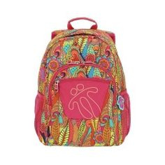 Mochila Totto Acuareles 6LI Vera Bradley Backpack, Backpacks, Bags, Shopping, Tumblr, Interior, Products, Fashion, Templates