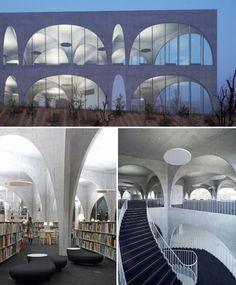 Reading Revolution: 14 Marvelous Modern Libraries   Shou Fi Ma Fi