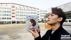 CHEN supports KYUHYUN's solo album '광화문에서'.