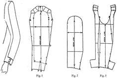 Sleeve Patterns(袖子纸样设计实例) 2 - 招财锋 - 招财锋的博客