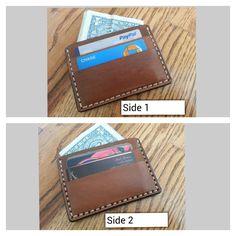 Genuine Leather Brown 5 Pocket Wallet  Handmade by HeirloomLeather, $69.00
