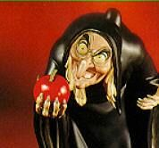 The creepy villian from the classic Disney film Snow White - available at American Library!