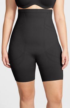 SPANX® 'Slim Cognito' High Waist Mid Thigh Shaper (Plus Size) available at #Nordstrom