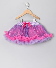 Take a look at this Purple & Pink Sparkle Pettiskirt on zulily today!