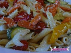 Roasted Vegetables with Penne