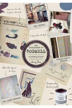Rodmell is a damson purple in the Chalk Paint® palette. Annie Sloan first developed her signature range of furniture paint in calling it 'Chalk Paint' because of this decorative paint's velvety, matte finish. Annie Sloan Chalk Paint Colour Chart, Chalk Paint Wax, Paint Color Chart, Paint Colours, Greek Blue, Creative Hub, Annie Sloan Paints, Paint Swatches, Palette