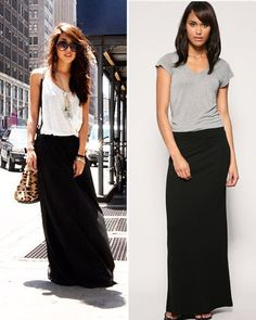 20 Style Tips On How To Wear Maxi Skirts In The Winter | Skinny ...