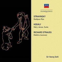 Stravinsky: Oedipus Rex / Strauss: Elektra Scenes