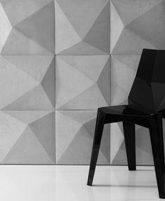 symmetrische-Diamanten-Form 3D-Wandgestaltung                                                                                                                                                      Mehr