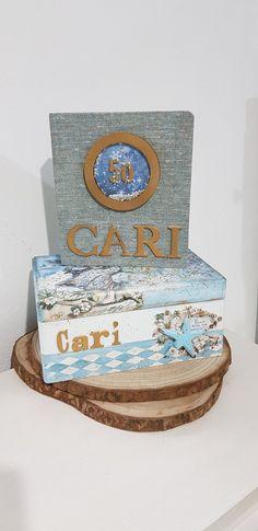 Decorative Boxes, Birthday Cake, Desserts, Home Decor, Decorated Boxes, Tailgate Desserts, Deserts, Decoration Home, Room Decor