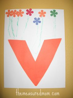 Look here for eight crafts for letter V!