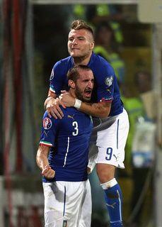 italia-azerbaijan 10-ottobre-2014       Italia-Azerbaijan 2-1 è l'inizio  2gol di giorgio CHIELLINI