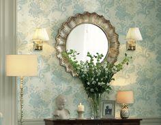 Mirror, mirror on the wall! Laura Ashley 2014 Interiors Collection: Operetta