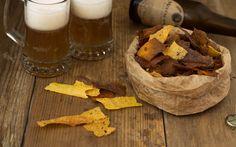 Chips polenta croccante