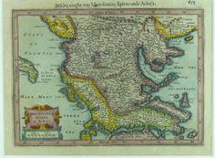 Grafik Macedonia Epirus et Achaia Louis Xiv, Sibylla Merian, Old Maps, Macedonia, Vintage Prints, Vintage World Maps, Map, Antique Maps, Fruit Salads