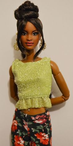 Mali- SIS Baby Phat Grace (Hybrid) on Made to Move Barbie Body OOAK Repaint Doll by DollAnatomy | Flickr - Photo Sharing!