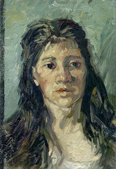 van Gogh - Head of a prostitute [1885]
